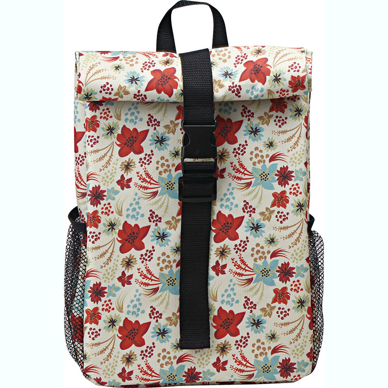 High Quality Insulated Cooler Bag - Polyester fabric cooler backpack with fashion spring summer pattern design – Picvalue