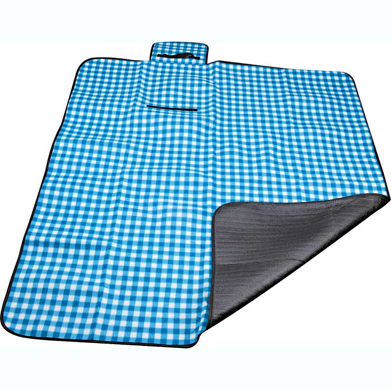 Good quality Extra Large Picnic Blanket - Polyester fleece picnic mat blanket with waterproof backing – Picvalue detail pictures