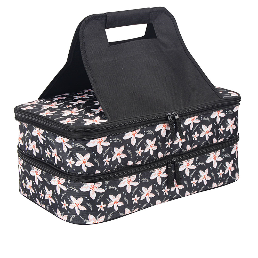New Fashion Design for Portable Casserole Dish Carrier - Double deck casserole carrier bag     – Picvalue