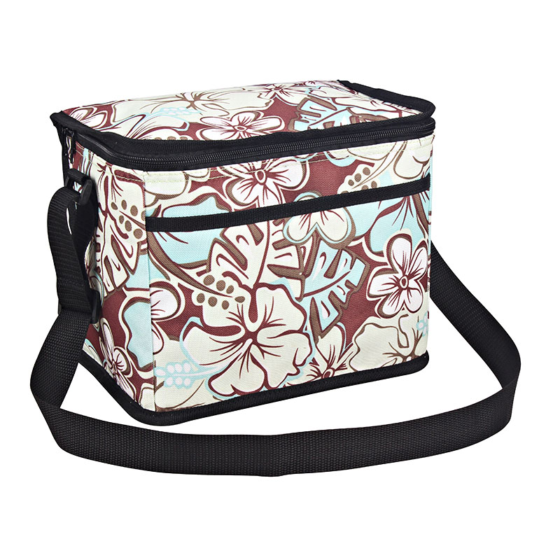 Special Design for Round Cooler Bag - Polyester fabric cooler bag 10L with fashion design pocket   – Picvalue