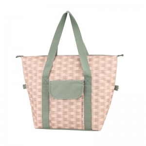 China Polyester insulated shopping cooler bag