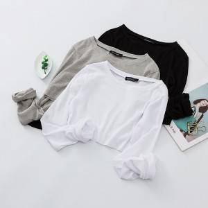 Slim Fitness Long Sleeve Women T-Shirt PY-CT003