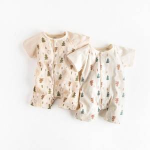 Short Sleeve Baby Climbing Suit PY-YR006