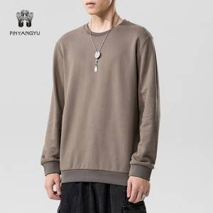 Custom Color Rew Neck Men Sweatshirt PY-NNW001