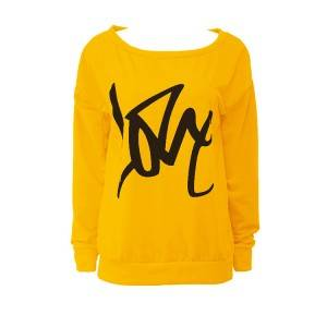 Custom Color Logo Rew Neck Women Sweatshirt PY-WH001