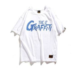 Hip-Hop Graphic Short Sleeve Men T-Shirt PY-ND002