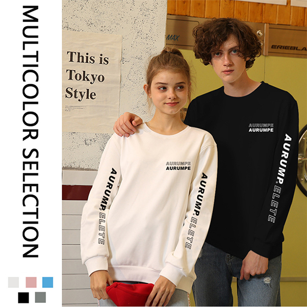 Latest long sleeve loose Custom T-Shirt Men Sweater T Shirts Featured Image