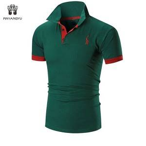New Multicolor Short Sleeve Embroidered top Outdoor slim Thin Polo shirt   PY-PL001