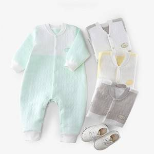Warm Cotton Baby Climbing Suit PY-YR001