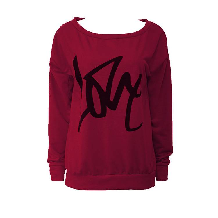 Custom Color Logo Rew Neck Women Sweatshirt PY-WH001 Featured Image