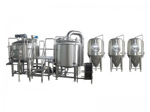 Good Wholesale Vendors 20bbl Beer Equipment Supplier - Hotel bars Home brewing equipment – Pijiang