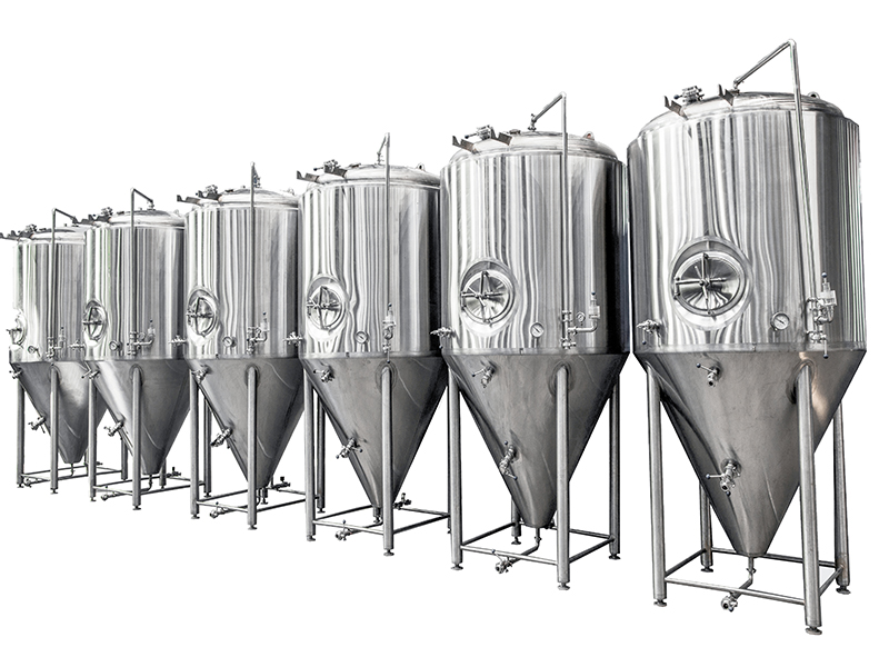 Large brewery equipment turnkey project