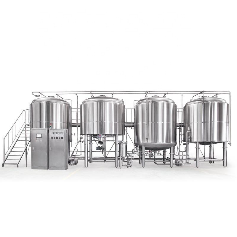 Hot New Products 100l Micro Brewery - 1000L 2000L PLC controlled automatic beer brewing equipment – Pijiang