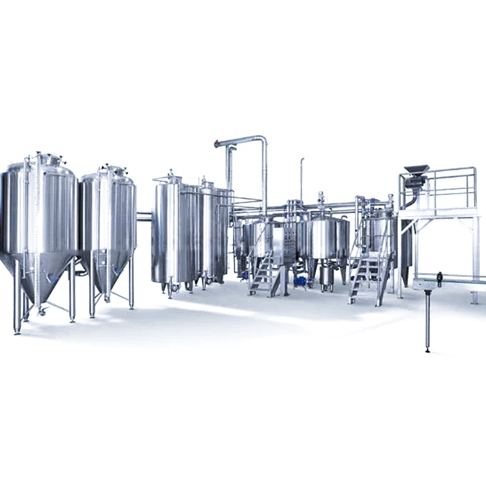 Beer manufacturing equipment fermenting equipment brew pub brewing system