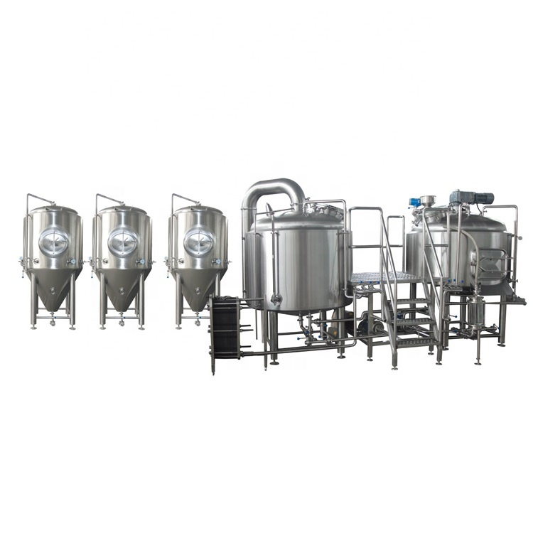 Rapid Delivery for Used Beer Brewing Equipment - NEW beer brewery equipment 5HL 500L high quality beer brewing equipment – Pijiang
