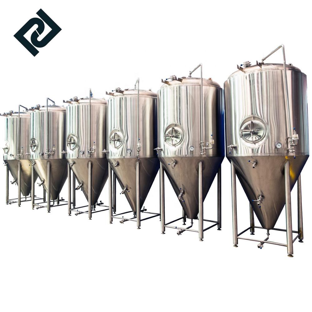 Super Purchasing for Beer Brewing Equipment Fermentation - 304 stainless steel beer fermentation tank 300l 500l 1000l ale beer brewing equipment – Pijiang