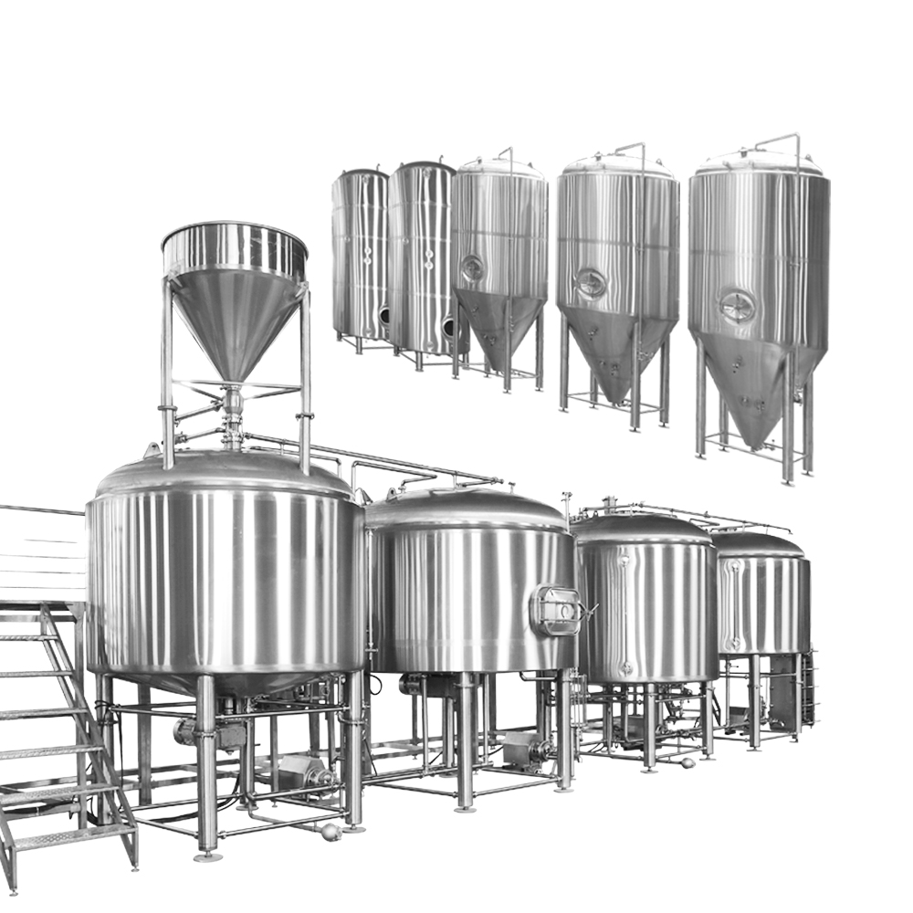 5000l Beer Brewing Equipment Turnkey Project
