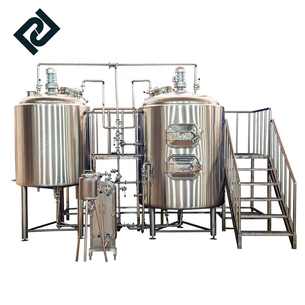Factory supplied Brewery Machine - 100L 500L home brewery micro brewery stainless steel beer brewing equipment – Pijiang