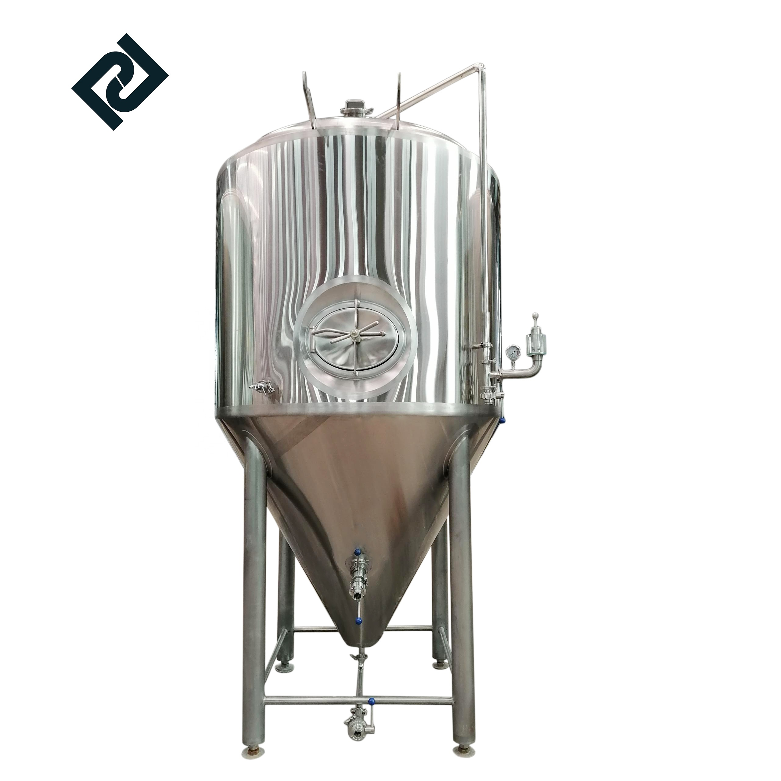 Advanced beer brewery 100l  automatic brewing equipment with fermentation tanks