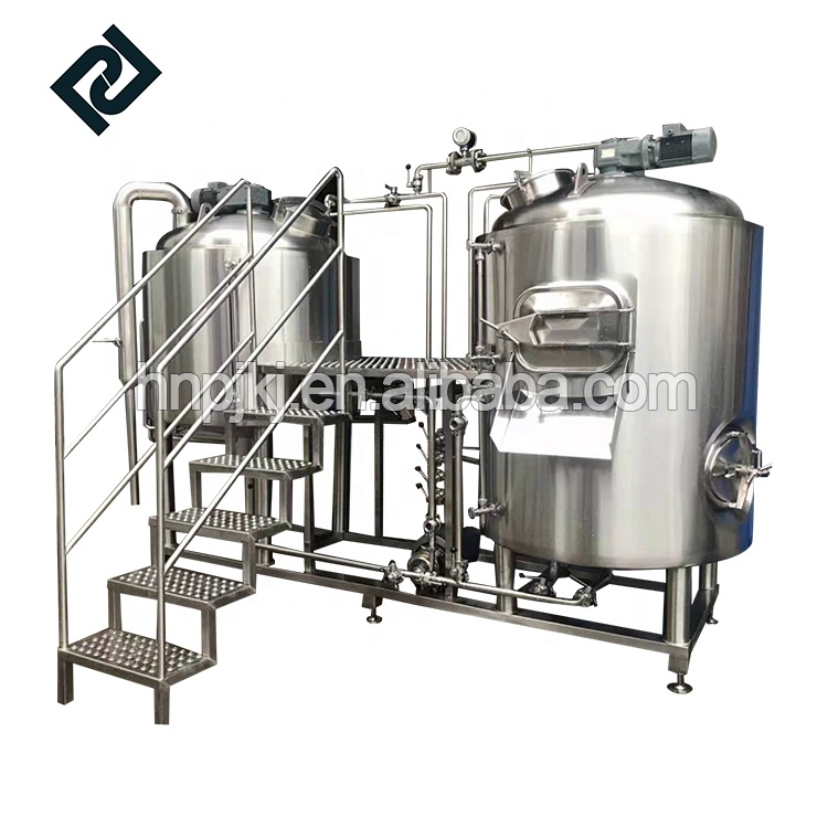 Low price for Brewery Storage Tank - Micro hotel/bar/pub stainless steel beer brewing equipment for brewpub – Pijiang