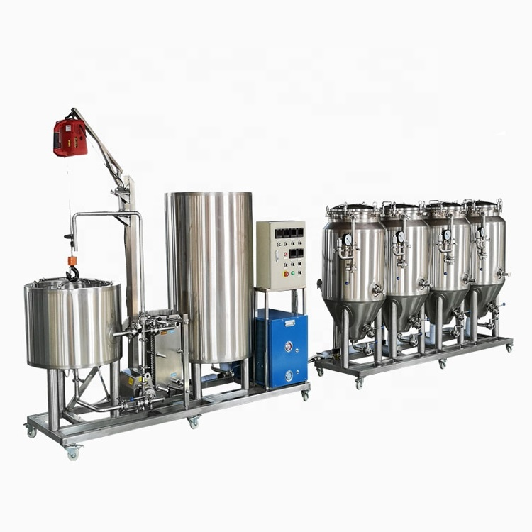 Big Discount Microbrewery For Sale - 500 liters beer brewing equipment for small brewery for sale – Pijiang