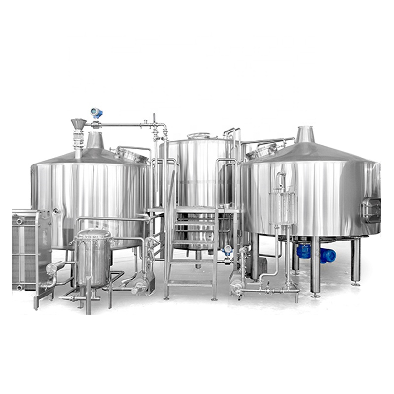 Factory supplied Beer Brew 60 - 1bbl 3bbl 7bbl beer brewing equipment beer pilot brewing equipment – Pijiang