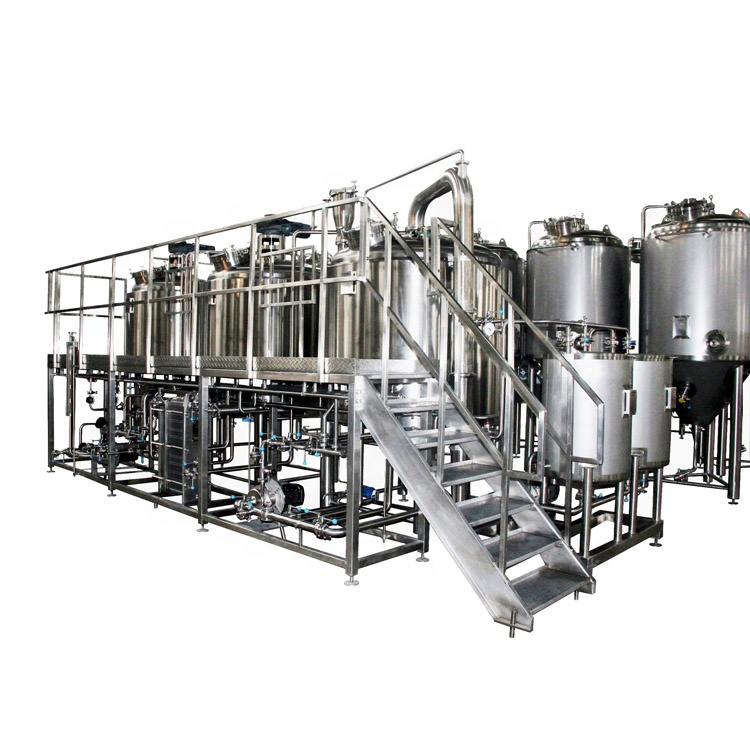 Europe style for Automatic Brewing System - 500L-10000L restaurant micro beer brewhouse equipment – Pijiang