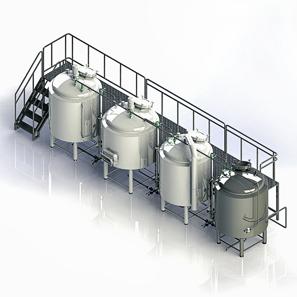 3000L Industrial Commercial Large Beer Brewing Brewery Equipment