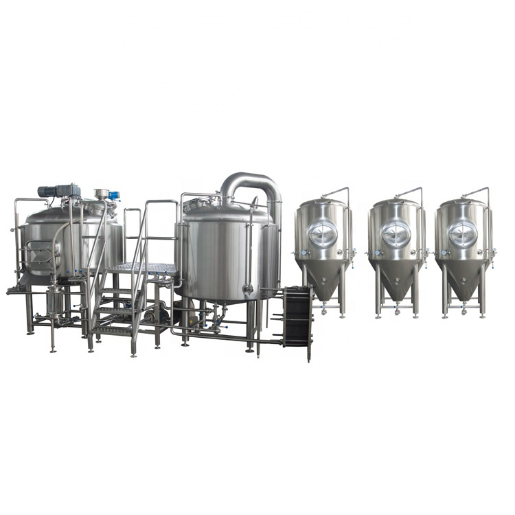 Professional China 500l Restaurant Brewing Equipment - Hot sale America type  Germany type beer brewing equipment – Pijiang