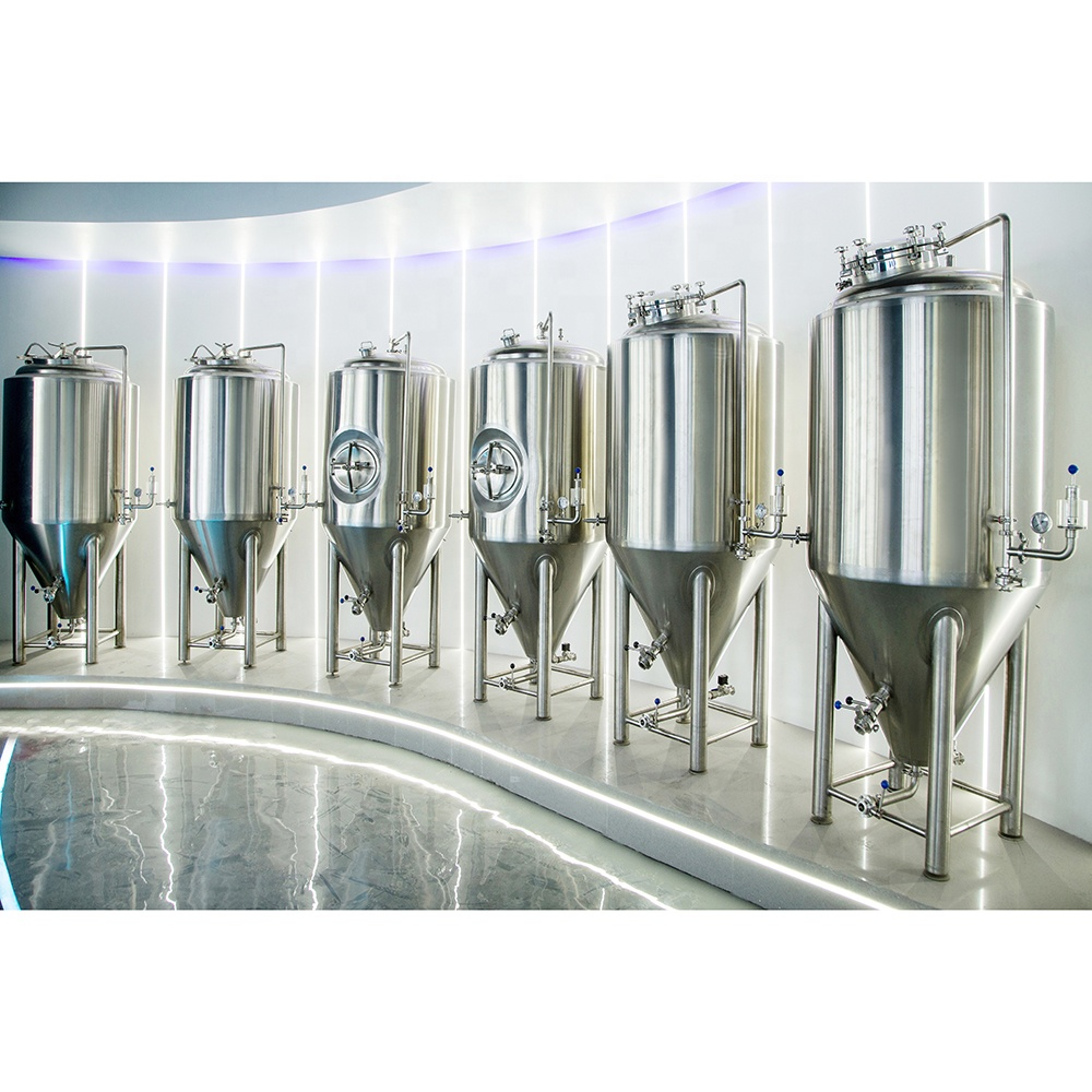 fermentation machine brewery equip beer brew stainless conical fermenter