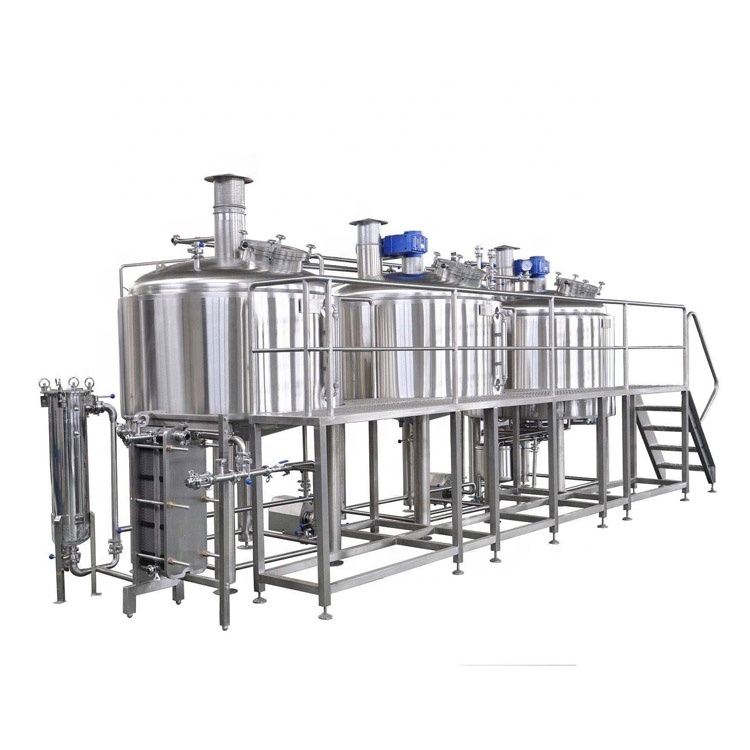 2020 Latest Design 3 Vessel 30bbl Brewing Equipment - China High Quality Commercial Beer brewing Equipment – Pijiang
