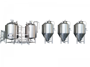 Competitive Price for Micro Brewery 50l 100l -  Micro commercial brewery equipment – Pijiang