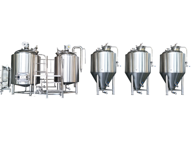 China New Product Micro Brewery Quick Installation Equipment -  Micro commercial brewery equipment – Pijiang