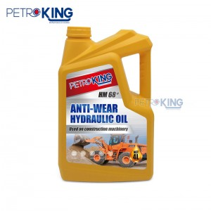 Wholesale Dealers of Hydraulic Oil Viscosity – Petroking Anti-Wear Hydraulic Oil #68 – PETROKING