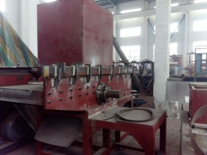 China New Product Plastic Crusher Machine - 700 single-shaft shredder    – Riching Machinery