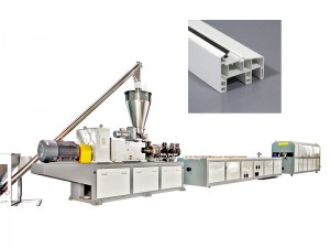 China wholesale Pe Pipe Extruder Line - PVC Profile Extruder Line – Riching Machinery
