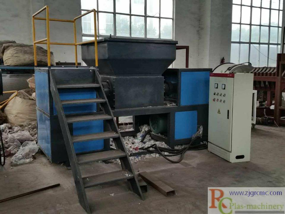 2018 Latest Design Portable Plastic Shredder - 1200 double-shaft shredder   – Riching Machinery