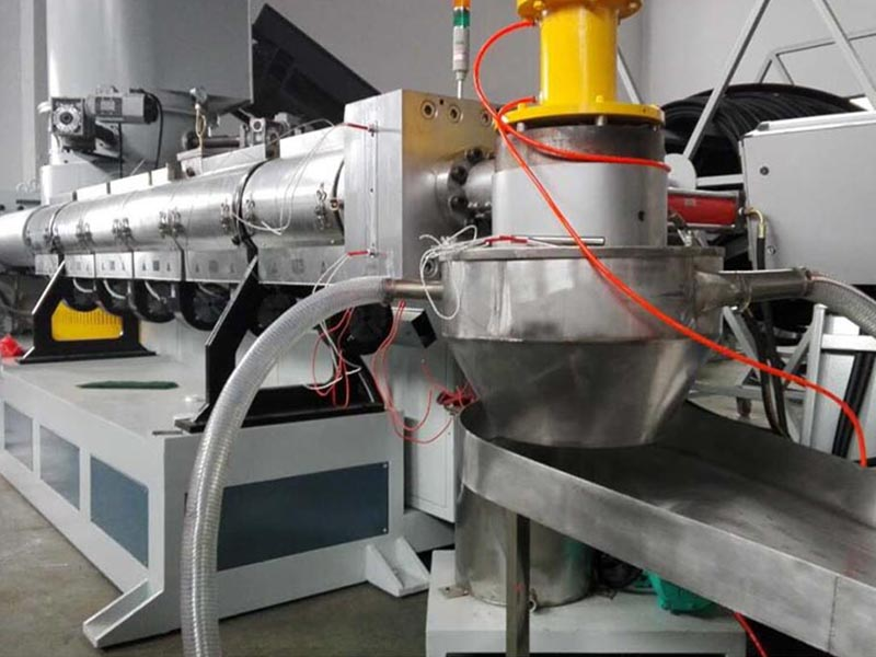 SJ150 pelletizing extrusion machine
