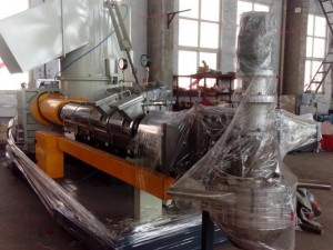 double degas single-screw pelletizing machine