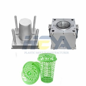 Top Suppliers Hollow-Back Chair Mold - Plastic Laundry Basket Mould – HEYA