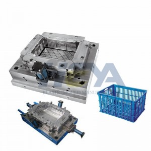 Custom Injection Plastic Crate Mould Maker