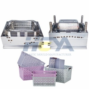 Storage Basket Injection Molds