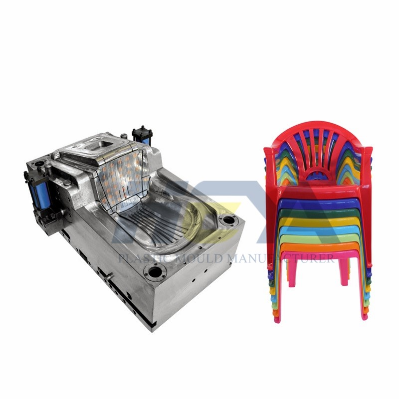 2020 China New Design Folding Chair Injection Mould Manufacturer - Stackable Plastic Chair Moulds – HEYA