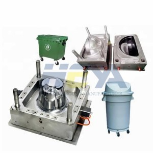 2020 High quality Auto Molded Parts Custom Injection Mould - Industrial Outdoor Dustbin Moulds – HEYA