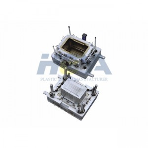 Original Factory Plastic Crate Mould - Stroage Container Plastic Injection Mould – HEYA