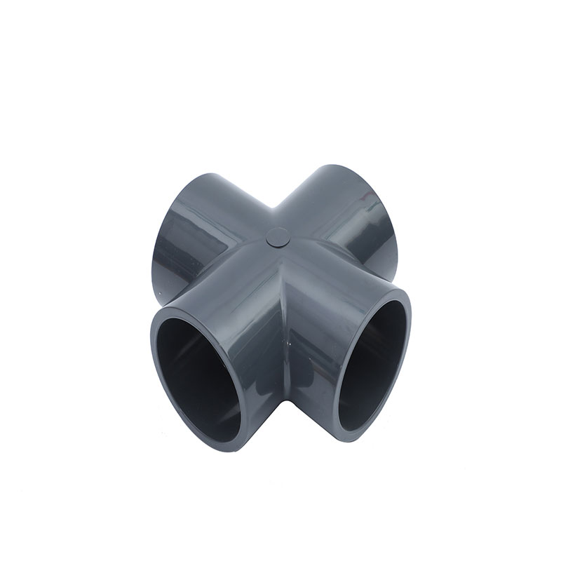 PN16 UPVC Fittings Cross