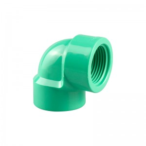 PVC BS Thread Fittings Female Elbow