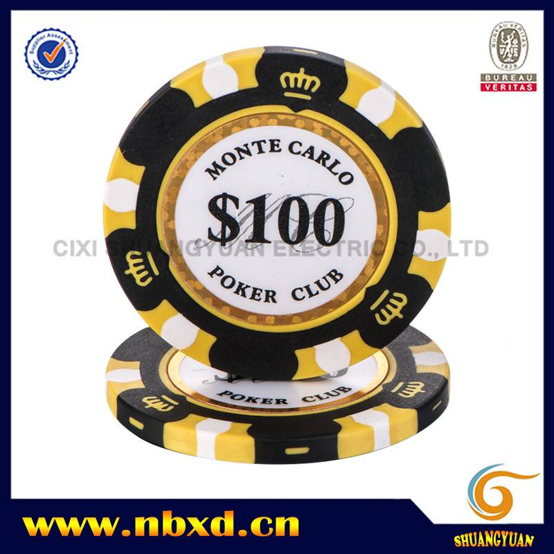 China Cheap price Clay Poker Chips 14g – SY-E36 – Shuangyuan