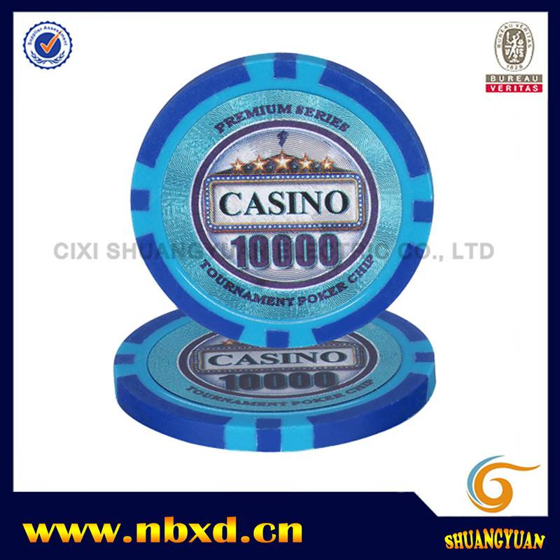 Good Quality 14g Monte Carlo Clay Poker Chips - SY-E25 – Shuangyuan