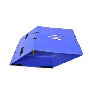 pp corrugated turnover box